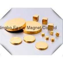 Supermacht magnetische Golden Plating Magnet