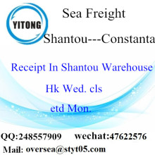Shantou Port LCL Consolidation to Constanta