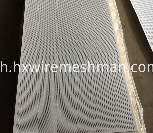 aluminium punched metal screen