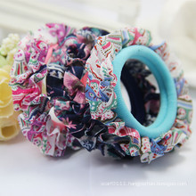 Girls Fashion Colorful Lace Elastic Towel Hair Bands (JE1563)