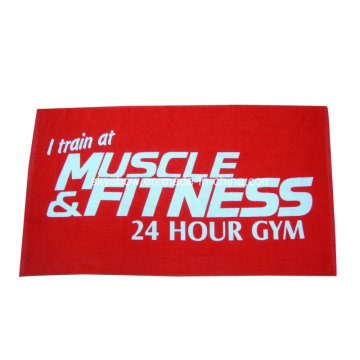 100% Cotton Full Size Printed Sports Towel (SST3009)