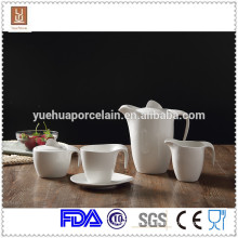 Ceramic dinnerware modern ceramic tea set/milk jar/sugar pot set