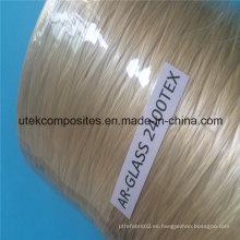 2400tex Ar Spray up Roving fibra de vidrio para la fabricación de Grc compuesto
