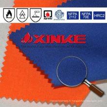Tissu anti-feu de fibre d'aramide d'IIIA pour des uniformes d'électricien
