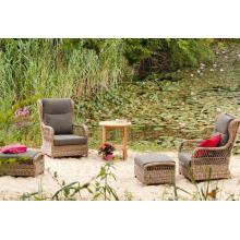 Кресло балкон патио сад Wicker открытый ротанга для отдыха