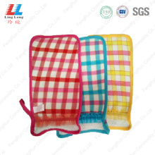 Delicate sponge bathing gloves tools