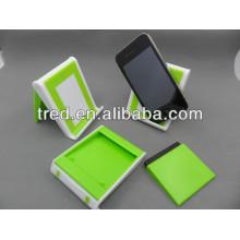 Tenedor divertido plástico del teléfono celular del fabricante de China para el escritorio