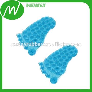 Adhesivo y extraíble de goma de silicona Succión de la Copa de pies