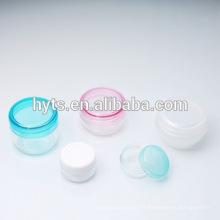 mini pot cosmétique en plastique transparent 3ml 5ml 8ml 10ml 15ml