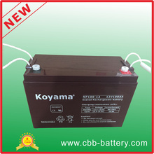 Alibaba Retail 12V 100ah UPS AGM Battery Compre produtos chineses on-line