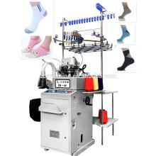 3.5 llano computarizado dos máquina de calcetín de la nave del calcetín de la máquina de la alimentación