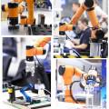 Порошковый автоматический интеллектуальный робот-распылитель для электростатических