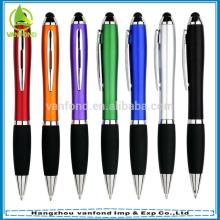 Venda quente toque tela caneta com toque de preto ou colorido