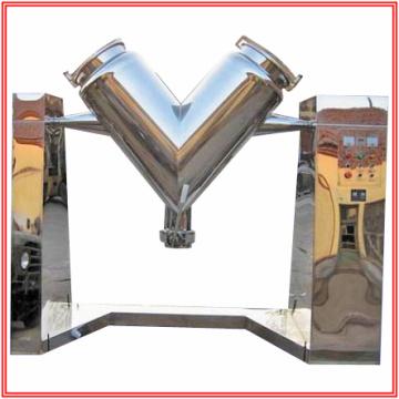 V-Formmischer für zwei Pulvermaterial