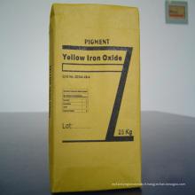 Pigment d'oxyde de fer jaune 313 pour la peinture et le revêtement