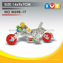 New item metal DIY types of motorcycle toy for child