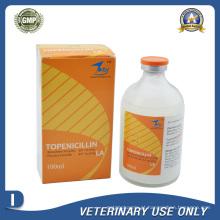 Medicamentos Veterinários de Benzatina Penicilina + Procaína Penicilina Injeção (100ml)