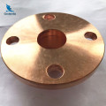 Machining Vacuum Fittings Bolted Blind Flange