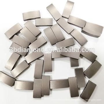 High quality reinforced concrete diamond segment for core drill bits