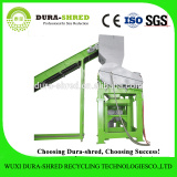 Dura-shred high quality turn waste tyre into rubber chips machinery