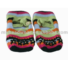 Ballett-Stil Pantoffeln Socken