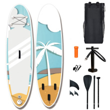 Professional best EVA Design  Transparent Stand Up Paddle Board Inflatable SUP Board Foam