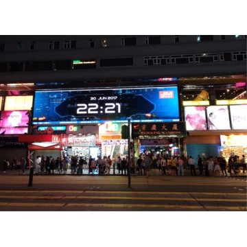1/8 scan Fixed Outdoor Billboard LED Display