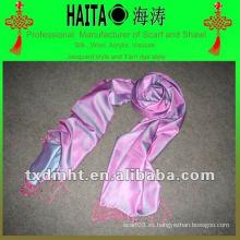 Mantón de seda bufanda