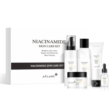 Wholesale Niacinamide Oil-Control Ultra Smoothing Refreshing Hydrating Skin Care Set