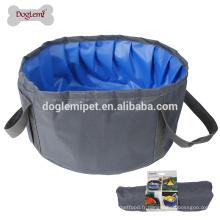Doglemi Nouvelle conception Pet Bathing Pool été Baignoire confortable pour les petits chiens
