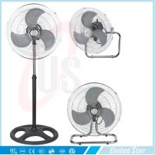 18-дюймовый 3 в 1 электрические стоять промышленный вентилятор таблицы вентилятор стены вентилятор Ussf-724