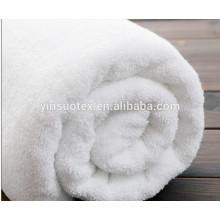 Дешевое оптовое банное помещение отель 100% хлопок белое полотенце