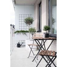 Conjunto de mesa Bistro para decoração ao ar livre