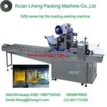 Gzb-350A High Speed Pillow-Type Automatic Biscuit Pieces Flow Wrapping Machine