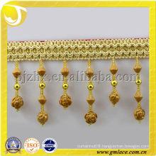 acrylic cuentas fleco hangzhou beads trims fringe elgance textile factory