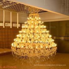 Maria Theresa lámpara colgante de gran tamaño vela grande araña cristal 8036
