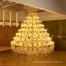 Maria Theresa huge size hanging lamp large candle chandelier crystal 8036