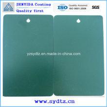 Elektrostatische Pulverbeschichtungsfarbe und Beschichtung