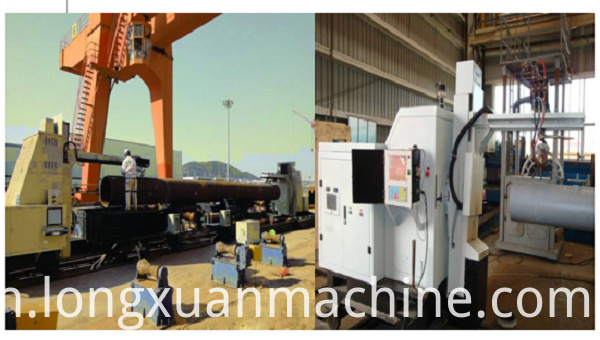 Pipe Intersecting Line Cutting Machine1
