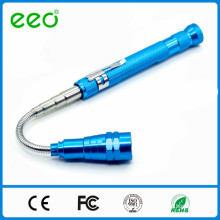 Telescoping Magnetic Flashlight With 3 LED