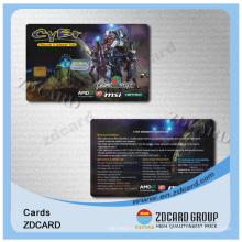 Kundenspezifische Kunststoff PVC Gym Probe Mitgliedskarte