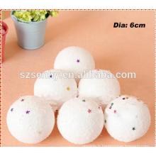 Boules de mousse de jouet de petit chat boules de noix de styrofoam