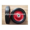 Конструкция тележки резиновые твердых колесо 8'' x1.75'' дюймов для Тележки ручные