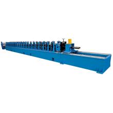 Máquina formadora de rolo para moldura de porta com sistema de controle PLC