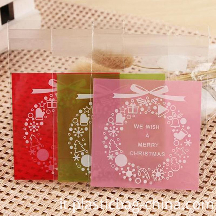 100PCS-Christmas-Mini-font-b-Transparent-b-font-Scrub-Flat-Pocket-Christmas-Snowflake-Diy-Gift-font