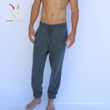 inverno mens quente calças casuais Men malha calças de lã