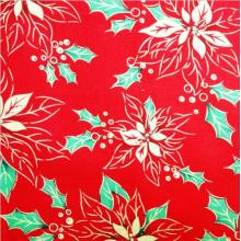 China for Knit Cotton Printed Fabric 100% Cotton Christmas Fabric supply to Armenia Wholesale