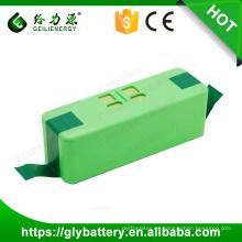 Geilienergy Nuevo producto Alta capacidad 14.4V 5200mah Li-ion Roomba Cleaner Battery