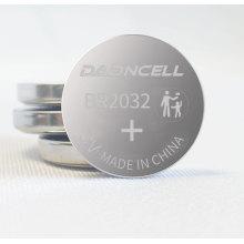 Longue durée de stockage 10 ans de piles bouton 3V BR2025A batterie de carbone au fluorure de Lithium de sécurité pour jauge de pression des pneus