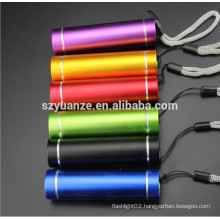 Hand-held colourful gift LED Flashlight